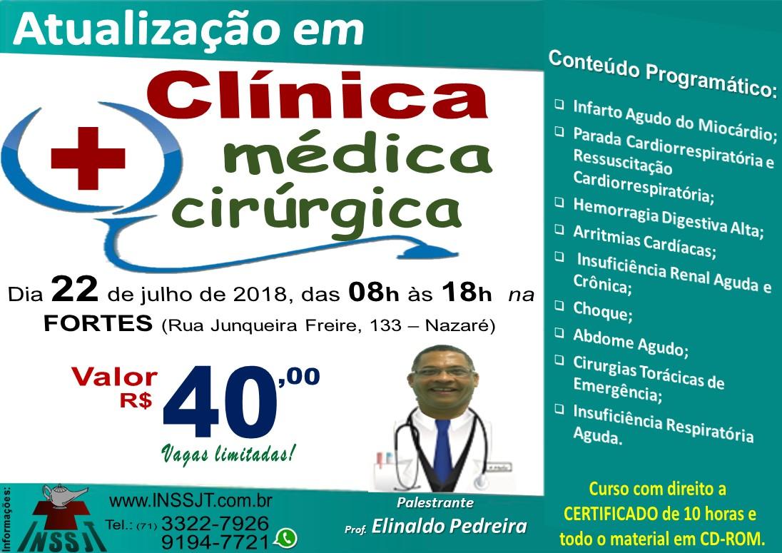 Curso de Atualização em Clínica Médica e Cirúrgica
