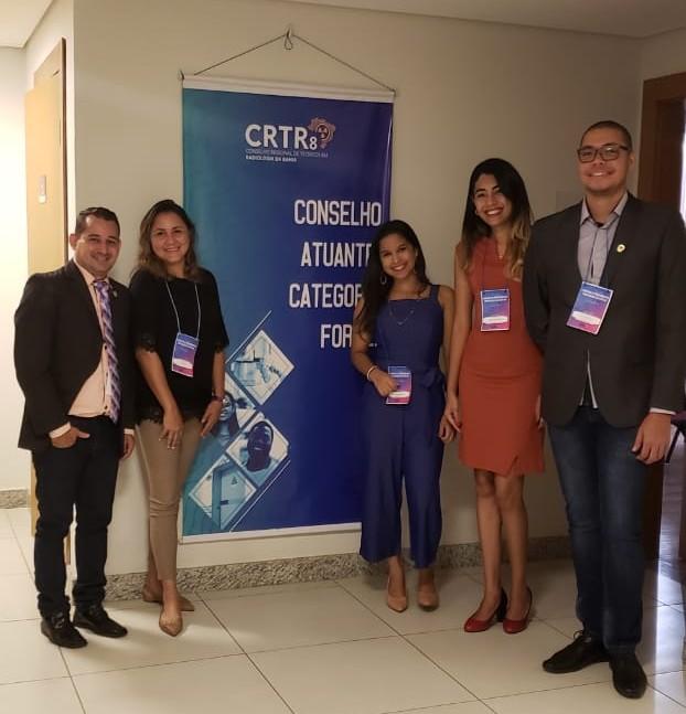 Membros do corpo docente da FORTES no primeiro simpósio de procedimentos do CRTR8